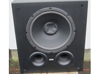 For sale is a 12 Inch B&W active AS6 Subwoofer 100 watt in good condition.