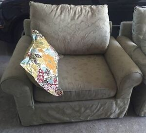 Solid Frame / Good Quality Sofa and Love seat