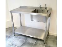 Wanted Free standing Stainless Sink Unit