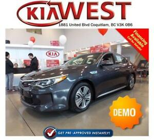 DEMO 2017 Kia Optima Hybrid EX Premium 2.0L