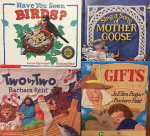 Picture Books by BARBARA REID -$3 each or all 4 for $10