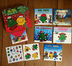 *LIKE NEW* MR MEN & LITTLE MISS CHRISTMAS BOX SET $15