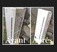 Nettoyage de ventilation résidentielle