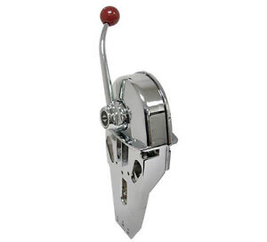 Chrome-Marine-Boat-Engine-Outboard-Top-Mount-Single-Control-Shift-Throttle-Lever