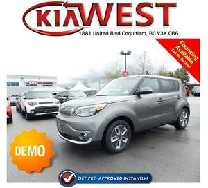 DEMO 2017 Kia Soul EV Luxury w/Sunroof