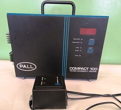 Compact Filter Case - Pall Paltronic Compact 100 Filter Integrity Tester w/ Locking Case FFA-100
