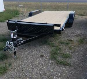 NEW 2018 7X16 FLATDECK AND 7X14 HD DUMP RENT TO OWN AVAILABLE