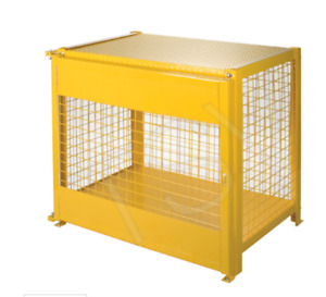Gas and LPG Cylinder Storage Cages, Racks, Carts