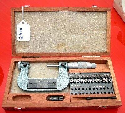 Brown And Sharpe Metric Micrometer No 210-12 Swiss Made Inv.2970