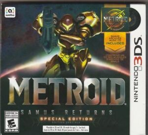 METROID SAMUS RETURNS SPECIAL EDITION for 3DS - NEW!!!