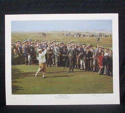 Alan Zuniga Bobby Jones 1930 Grand Slam US British Open Golf Lithograph