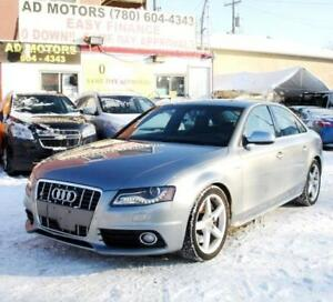 $$ REDUCED!! 2010 AUDI S4 3.0L V6T PREMIUM SPORT PACKAGE AWD
