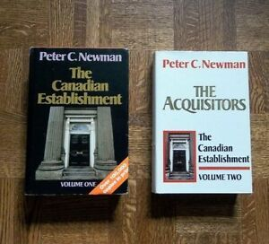 """The Canadian Establishment"" - Volumes 1 and 2‏‏"