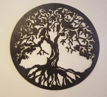 Tree Of Life Metal Wall Art 800mm Diameter