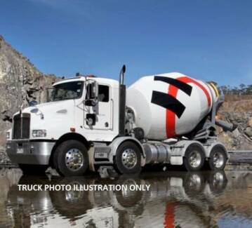 CONCRETE TRUCKS  FOR SALE  WITH CONTRACTS WITH MAJOR CO.