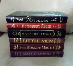5 Leather Bound Hardcover World's Best Reader's Digest Classics