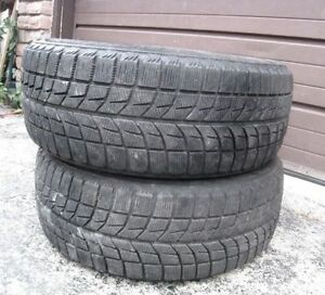 2 Bridgestone 205/55/16 M+S Tires, all season in great condition