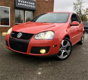 2007 Volkswagen GTI W/Leather, SunRoof, Rims, FULLY LOADED !
