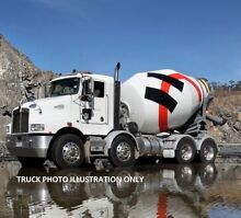 CONCRETE/TRANSPORT TRUCKS WITH CONTRACTS FOR SALE Maroochydore Maroochydore Area Preview