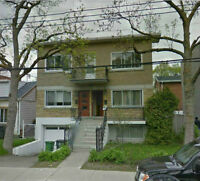 Large Lower Duplex Two Floors For Rent 5 1/2 + 3 1/2 with Yard