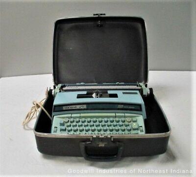 Working Smith-corona Blue Coronet Super 12 Electric Typewriter Mc