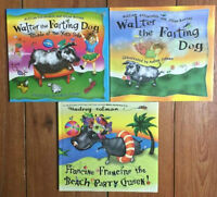 WALTER THE FARTING DOG hard picture books 3 for $10