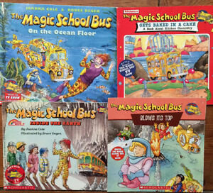MAGIC SCHOOL BUS children's books -$3 each or all 4 for $10