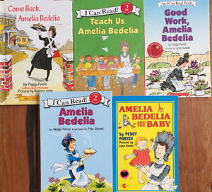 AMELIA BEDELIA children's books $3 each or all 5 for $10