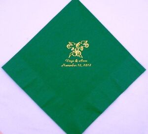50-Personalized-Luncheon-Napkins-Wedding-favors-custom-printed