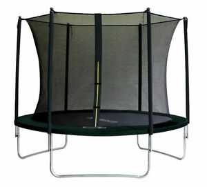 NEW! 10FT TRAMPOLINE + ENCLOSURE NET + LADDER + FREE SHIPPING
