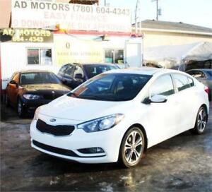 """NO ACCIDENT"" 2015 KIA FORTE EX SUNROOF AUTO FINANCING AVAILABLE"