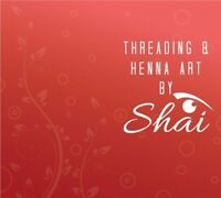 LACEWOOD DRIVE***$5 SHAI'S  EYEBROW THREADING/HENNA ART.***