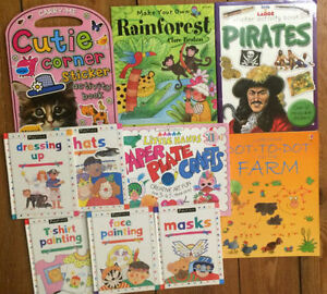 STICKER, ACTIVITY, DRAWING, BOOKS - 10 for $10 London Ontario image 1