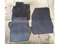 Ford Fiesta genuine rubber car mats