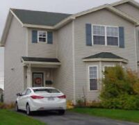 2/3 Bedroom duplex Mount Pearl