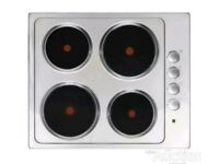 Brand New Cooke & Lewis Stainless Steel Electric Hob***FREE DELIVERY***