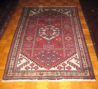 Handmade prsian rug 5 ft x 3.3 ft 100% wool