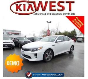 DEMO 2017 Kia Optima SXL Turbo 2.0L T-GDI