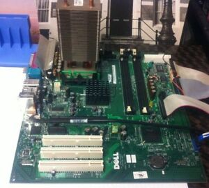 Dell GX280Tower Motherboard and Heat sink cooler Original West Island Greater Montréal image 1