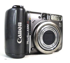 CANON: PowerShot A590IS Profession Digital Camera *WOW!