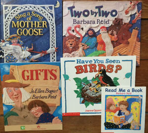 Picture Books by BARBARA REID -$3 each or all 5 for $10