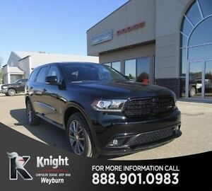 2017 Dodge Durango GT Heated Leather DVD Remote Start Sunroof