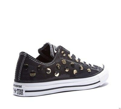 Women's Converse CT All Star Ox Stud Hardware Trainers Size 3 UK...