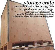 CHEAP SELF STORAGE CRATES 0.9M3 FOR ONLY $2.50 PER WEEK Kilkenny Charles Sturt Area Preview