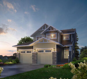 Build This Dream Home Backing onto Greenspace in Penhold!
