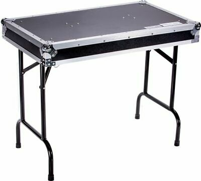 DEEJAYLED TBH FLIGHT CASE UNIVERSAL FOLD OUT DJ TABLE IN 36WX21DX30 H (TBHTABLE)