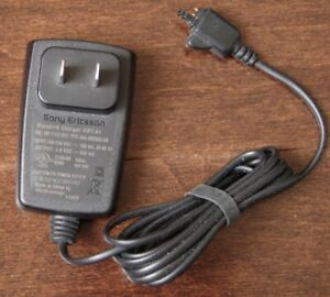 Sony Ericsson cell phone wall / AC charger.  Model CST-61