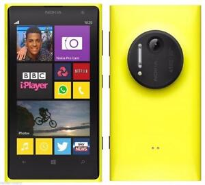 Yellow Nokia  Lumina 1020 With 32 GB Memory @ One Stop Cell Shop
