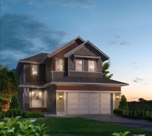 Build Laebon's Two Story Home Backing onto Greenspace in Penhold