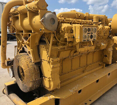 Caterpillar 3512ta Mui Land Petroleum Diesel Generator Drive Engine